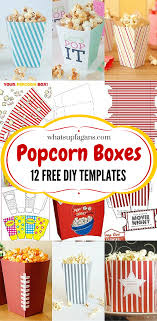 diy popcorn box printables for a better family movie night