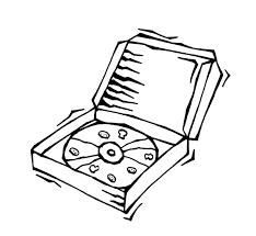 pizza box clipart. Plain Box Clipart Info Inside Pizza Box