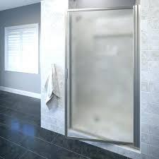 24 shower door shower door deluxe x pivot framed single swing shower door shower door home 24 shower door