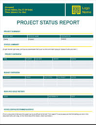Project Status Reporting Papers And Reports Office Com