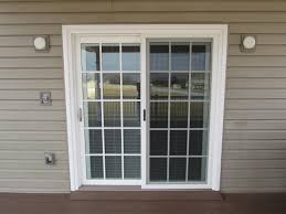 custom patio doors with blinds between the glass ideas