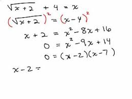 solving radical equations 6 you