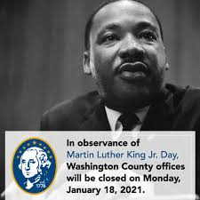 Martin Luther King Jr. Day ...