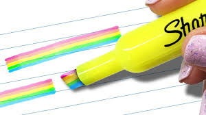 diy office supplies. Top Saved Idea For School Supplies Is This DIY Rainbow Highlighter. Diy Office