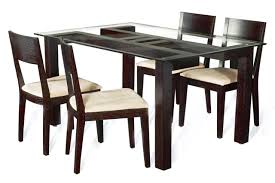best glass top for wood dining table for your dining room design exciting rectangle clear