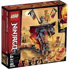 Đồ chơi LEGO NINJAGO - Firefang-Rắn Lửa Khổng Lồ - Mã SP 70674