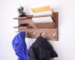 Coat Rack Mail Organizer wall coat rack entry organizer wall organizer coat rack wall 82