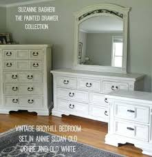 Painting Bedroom Furniture White Bedroom Set In Old Ochre And Old White  Chalk Paint By The . Painting Bedroom Furniture ...