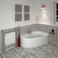 acrylic clia right hand offset corner bath panel