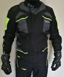 a photograph showing the on board stone 4s touring jacket which has obtained the best score