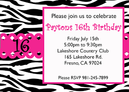 printable sweet sixteen invitation templates com best images of printable sweet invitations sweet
