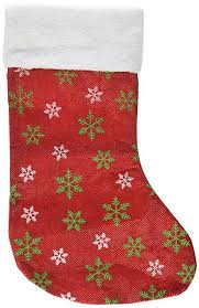 "Christmas Stocking Pattern With Cuff Adorable Amazon SANNO 48"" Christmas Stockings Craft Socks Green And"