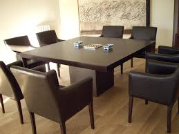 dining tables interesting square 8 person dining table large round square dining room tables for 8