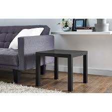 end table. Mainstays Parsons Square End Table, Multiple Colors Table