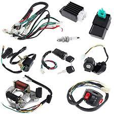 amazon com annpee full electrics coil cdi wiring harness loom kit annpee full electrics coil cdi wiring harness loom kit cdi coil magneto kick start engine for