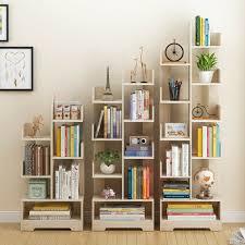 bookshelf tree shape wooden storage art s display shelves organizer rack