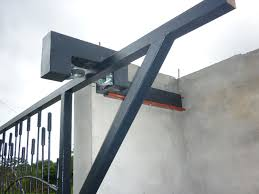 gate security anti lift bracket