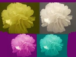 Make Tissue Paper Flower Balls Learn How To Make Tissue Paper Flowers Or Topiary Balls Youtube