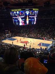 madison square garden section 213 row 6 seat 18