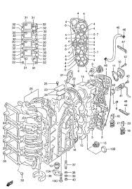 suzuki outboard parts dt 115 parts listings browns point Suzuki Outboard Wiring Harness suzuki dt 115 fig 1 crankcase suzuki outboard wiring harness diagram