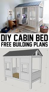 building bedroom furniture. how to build a restoration hardwareinspired cabin bed building bedroom furniture