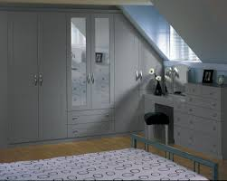 contemporary fitted bedroom furniture. Portland Dust Grey Angled Doors Contemporary Fitted Bedroom Furniture