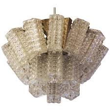 mid century chandelier by austrolux