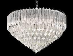 franklite valentina 6 light italian crystal pendant ceiling light