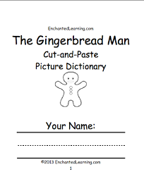 Small Picture The Gingerbread Man EnchantedLearningcom