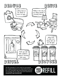 Free Downloadable Coloring Page For Kids We Want Refill