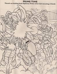 Small Picture Revenge Of The Fallen Coloring Book Preview Transformers News