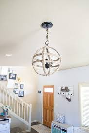 and easy diy twine orb chandelier dwelling in happiness