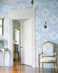 contemporary wallpaper with a traditional pattern