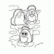 Furby Kleurplaat