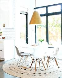 carpet under dining table jute rug dining room interesting jute rug under kitchen table with best