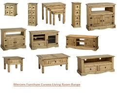 Pine Living Room Furniture Mercers Furniturear Corona Pine Tv Unit Coffee Table Nest Cd Living