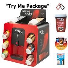 Nestle Vending Machine Cool Nescafe And Go Machine Economy Package