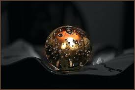 darkness crystal ball candle light chandeliers lighting fixtures