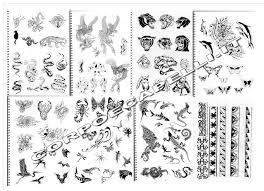 Dettagli Su Tattoo Book Libro Per Tatuaggi 425 Disegni