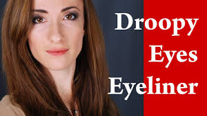 how to apply eyeliner on hooded eyes droopy eyes round and downturned eyes makeup tutorial