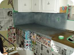 Kitchen Counter Top Paint Lifelovecraft Kitchen Countertop A Spray Paint Affair