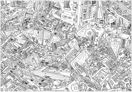 Small Picture Complex computers Unclassifiable Coloring pages for adults