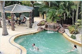 Oasis Swimming Pool Water feature Waterfalls Kit