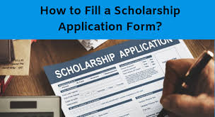 Scholarship Aplication Form Scholarship Form 2019 Scholarship Forms Online