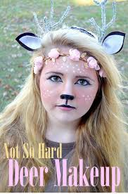 not so hard deer makeup