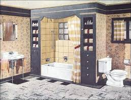 1940 Bathroom Design Unique 48s Bathroom Bath Design Vintage Interiors Restroom Style Vanity