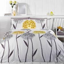 33 sumptuous design yellow and grey bedding uk allium fl duvet cover contemporary printed white set king size duvet cover kingsize