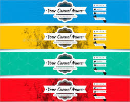 22 Youtube Banner Background Templates Free Sample Example