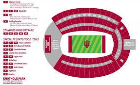 Memorial Stadium Seating Chart Iu Memorial Stadium Seating Chart Seating Chart