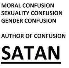 Image result for SATAN master of confusion